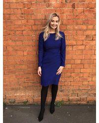 Diva Lancing Dress Cobalt - Blue