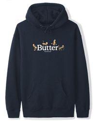 Butter Goods Monkey Pullover - Navy - Blue