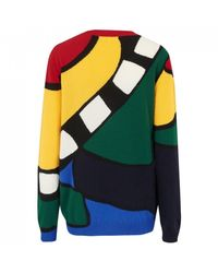 Chinti & Parker Abstract Majestic Jumper - Multicolour