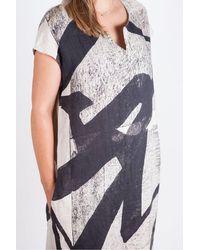 Crea Concept Short Sleeve Dress - Multicolour