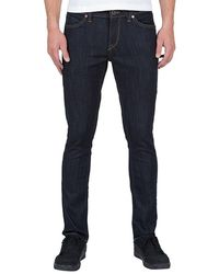 Volcom Trousers Jeans 2 X 4 - Denim - Blue
