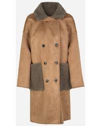 Munthe Rylee Reversible Camel Coat - Brown