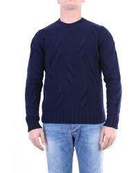 Gran Sasso Knitwear Crewneck Men Night Blue