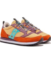 Saucony Jazz Original Curry & Ginger Trainers - Multicolour