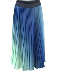 Sportmax Code Voliera Pleated Skirt - Blue