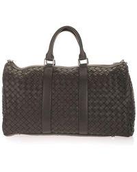 Bottega Veneta Leather Travel Bag - Green