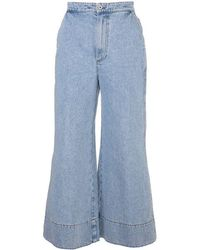Loewe Other Materials Jeans - Blue