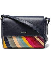 Paul Smith Cross Body Bag Swirl W1a-6178-asbloc - Blue