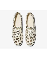 Keds Women's Champion Leopard Cream - Multicolor