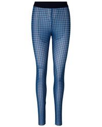 Baum und Pferdgarten Jazzlyn leggings - Blue Gingham Sustainable