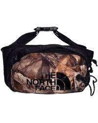 The North Face Bozer Hip Pack Iii Camo - Black