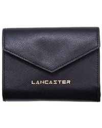 Lancaster Women's 12702noir Black Leather Wallet