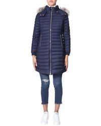 Tatras Women's Lta20a458175 Blue Wool Down Jacket