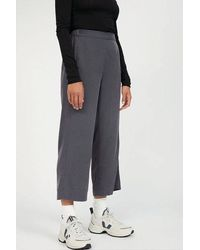 ARMEDANGELS Kamalaa Lyocell Cropped Trousers Anthra - Multicolour