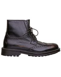 Hundred 100 Boots Dark Brown