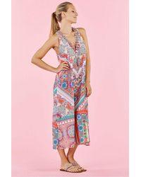 Rene' Derhy Soho Dress In Coral - Pink