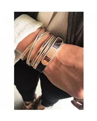Anna Beck Limited Edition Skinny Bangle - Metallic