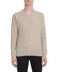 Ballantyne V Collar Sweater - Multicolor