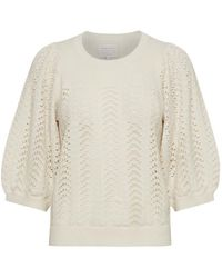 Part Two Enny Cream Knit - Natural
