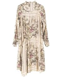 By Malene Birger Vanuna Zodiac Dress - Angora - Natural
