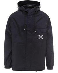KENZO Nylon Raincoat - Black