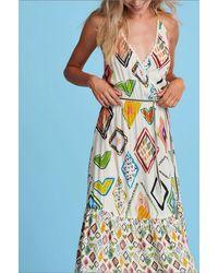 POM Amsterdam Dress - Nature's Mozaic - Multicolour