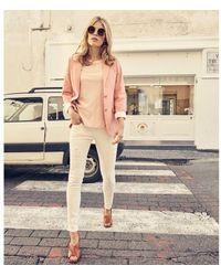 Mos Mosh Mary Coral Blazer - Pink