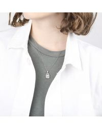 V Jewellery Odette Pendant - Metallic