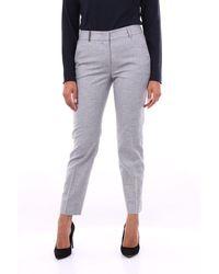Peserico Pants Chino Women Gray