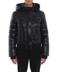 Fay Women's Naw31373090pvzb999 Black Polyamide Down Jacket