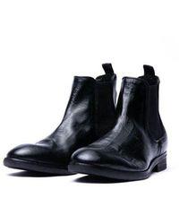 H by Hudson Kirchner Chelsea Boot Black Colour: Black,