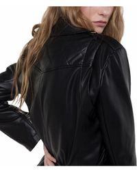 a35ba6472 Leather Jacket - Black