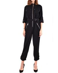 Michael Kors Polyester Jumpsuit - Black
