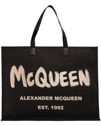 Alexander McQueen Nylon Shoulder Bag - Black