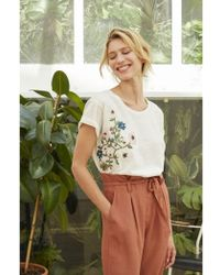 Harris Wilson - Josef T-shirt In Ecru - Lyst
