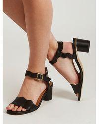 Stine Goya Matthew Leather Sandal - Black