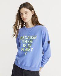 Ecoalf Because Sweatshirt - Blue
