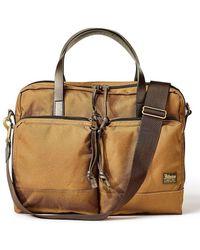 Filson Dryden Whiskey Brown Briefcase