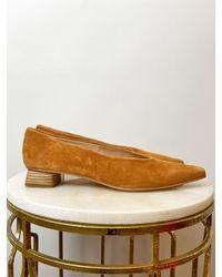 Unisa Gevelyn Flat Shoes Tan - Brown