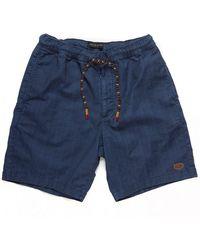 Deus Ex Machina Fiesta Shorts - Blue