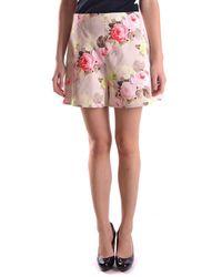 Carven Shorts Ept1335 - Pink