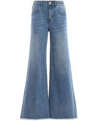 Michael Kors Women's Ms99crmb4v463 Light Blue Cotton Jeans