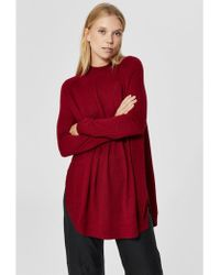 SELECTED - Eileen Ls Knit Highneck - Lyst