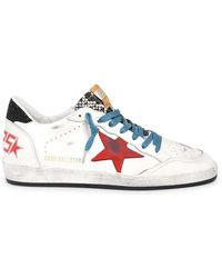 Golden Goose Deluxe Brand Men's Gmf00117f00063580516 White Leather Sneakers