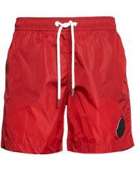 Moncler Swim Shorts - Red