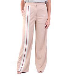 Palm Angels Trousers Joggers Beige - Brown