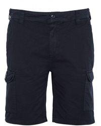 Schott Nyc Cargo Shorts - Tr Olimpo 30 - Blue