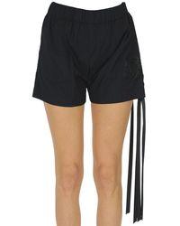 N°21 Cotton Shorts - Black