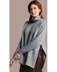 Riani Grey Roll Neck Knitted Jumper 187740 8173 902 - Blue