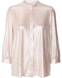 Lolly's Laundry Lollys Laundry Amelia Shiny Shirt - Pink